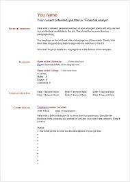 resume templates free for word gallery of 10 blank resume templates free word psd pdf samples