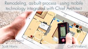 remodeling as built process with room planner and chief architect