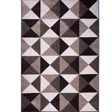 103 Best Ivory U0026 Gray by Home Dynamix Bazaar Modern Lines Ivory 5 Ft 2 In X 7 Ft 2 In