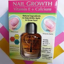 amazing shine nail growth vitamin e calcium u2013 nzoogle