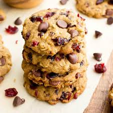 thanksgiving chocolate chip cookies vegan cranberry chocolate chip cookies v gluten free oat flour