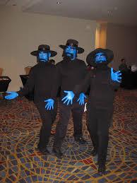 Blue Man Group Halloween Costume Homemade Halloween Costumes Jewish Interfaith Theme