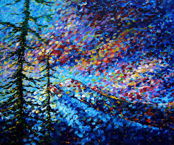 Impressionist Landscape Painting by Most Beautiful Fine Arts Abstract Paintings Impressionist