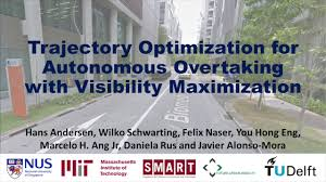 trajectory optimization for autonomous overtaking with visibility