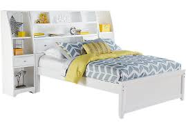 bedroom pretty twin single storage bed with bookcase headboard