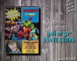 16 best superheroes birthday invitations images on pinterest