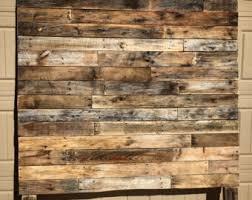wood headboard etsy