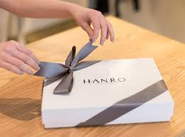 Beautifully Wrapped Gifts - hanro holiday gift guide