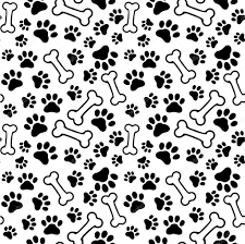 paw print background seamless background pet paw 4515