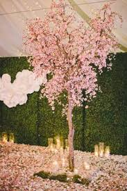 Cherry Blossom Tree Centerpiece by Cherry Blossom Ikebana Google Search Reception Decoration