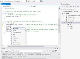 arduino ide for visual studio and atmel studio