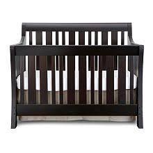 Babi Italia Mayfair Flat Convertible Crib Convertible Black Espresso Crib Se Available At Buybuybaby