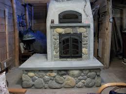 michael thronson masonry masonry heater with clay and stone