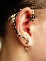 cuff piercing bite ear cuff piercing