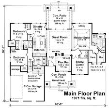 craftsman style house plan 3 beds 2 50 baths 1971 sq ft plan 51 552