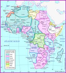 africa map khartoum union of south africa map