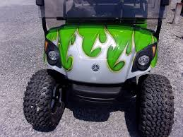 Golf Cart Off Road Tires 2010 Yamaha Lifted Golf Cart Gas 4 Passenger In Acme Pa Area 31