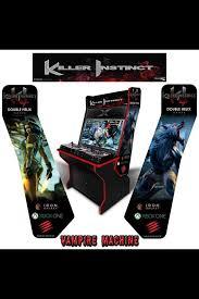killer instinct arcade cabinet vampire machine on twitter my custom killer instinct design for