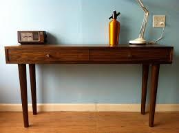 mid century modern console table ideas popular mid century