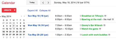 hebrew calendars hebrew calendar option lands in web version of calendar for