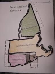 13 Colony Map 5th Grade New England Colonies Map Flip Chart Www Betikempa1