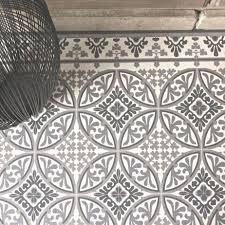 tapis de cuisine alinea lino effet carreaux de ciment amazing carrelage aspect carreau