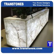 Marble Reception Desk Tabletops Reception Page1 Transtones Decorating Materials Co