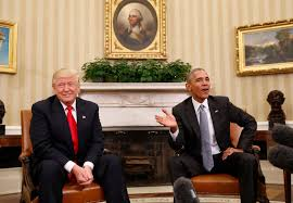 Oval Office Pics Excellent U0027 First Meeting For Obama Trump Wavy Tv