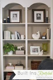 Home Office Bookshelf Ideas Painting Shelves Ideas