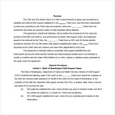 child support agreement 8 download free documents in pdf doc