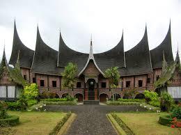 traditional house of minangkabau people in west sumatra wikifresh