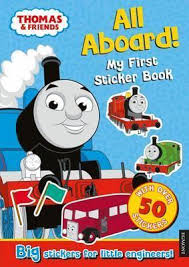 thomas tank engine aboard sticker book egmont