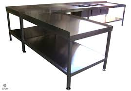 Industrial Kitchen Sink Kitchen Sinks L Shaped Stainless Steel Industrial Kitchen Table