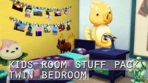 Kidsroom The Sims 4 Kids Room Stuff Pack Twin Bedroom Youtube