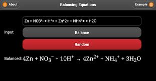 balancing equations android apps on google play