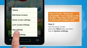 messages not downloading android fix the device not compatible error in play store while