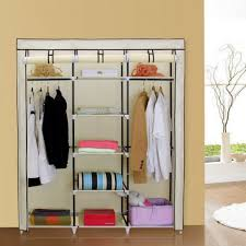 Clothes Cabinet Interiors Outstanding Wardrobe Storage Closet Portable Home