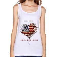 utu jake owen american country love song womens fashion tank top