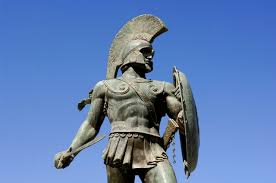 greece peloponnese sparta leonidas statue 2 sparta pictures