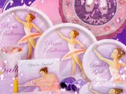 ballerina party supplies prima ballerina birthday party supplies