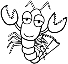 how to draw cartoon lobsters with easy step by step drawing