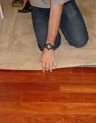 how to convert carpeted floors to hardwood the reno