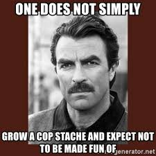 One Does Simply Not Meme Generator - one does not simply grow a cop stache and expect not to be made