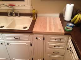 Butcher Block Kitchen Countertops Kitchen Cutting Board Countertop Awe 20 Examples Of Stylish