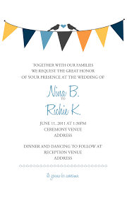 ceremony invitation wording free printable invitation design