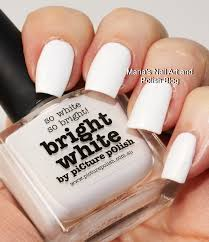 marias nail art and polish blog picture polish bright white swatches