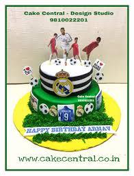 Cristiano Ronaldo Real Madrid C F Cake Birthday Cake For A