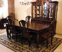old world dining room old world 7pc dining table chair set rotmans dining 7 or old