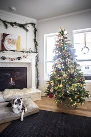 Artificial Decorative Trees For The Home Our Eclectic Kid Friendly Christmas Tree Live Free Creative Co