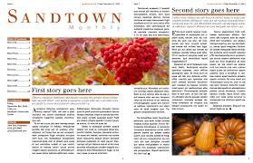 newsletter cherise design